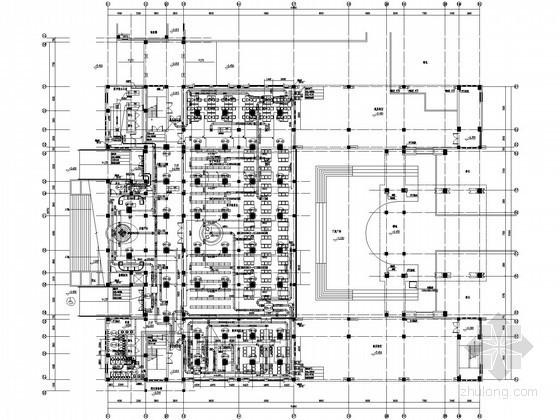 [上海]教学图书馆空调通风设计施工图