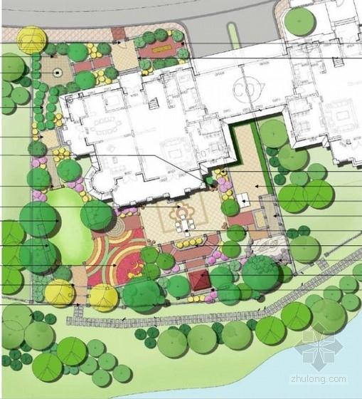 别墅区样板庭院景观设计方案
