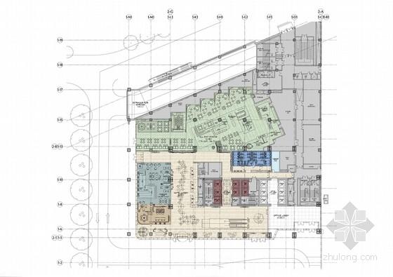 [山东]国际高端五星级休闲度假酒店公共区及样板房室内设计概念方案(高清图)
