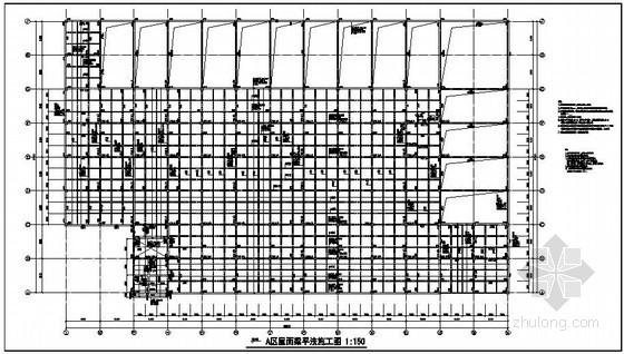 [原创]某大型多层框架厂房结构施工图