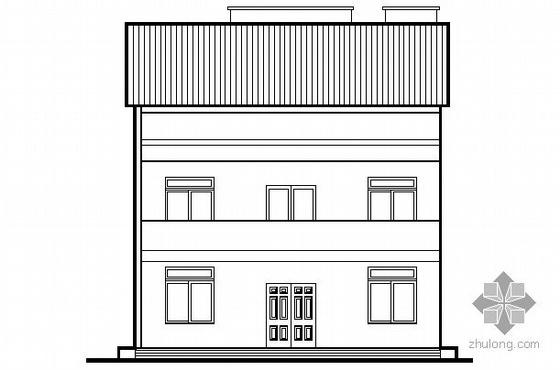 某二层小型住宅楼建筑结构施工图