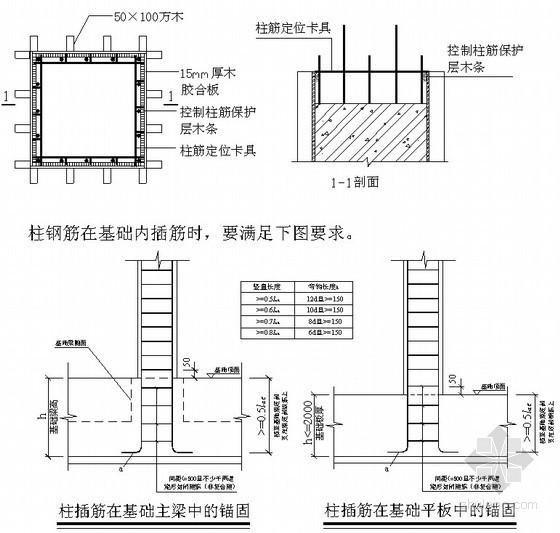 商业中心钢筋施工方案(直螺纹连接、多图)
