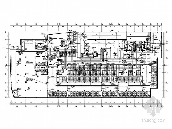 [江苏]综合商业中心全套电气施工图纸102张(裙楼塔楼 一类高层)