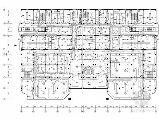 十四层综合楼强电系统施工图