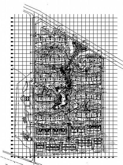 某居住区景观工程设计施工图