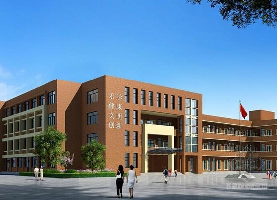 [安徽]小学教学综合楼安装工程量清单计价实例(含图纸)