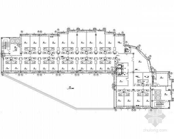 [黑龙江]多层多栋商业服务中心采暖系统设计施工图