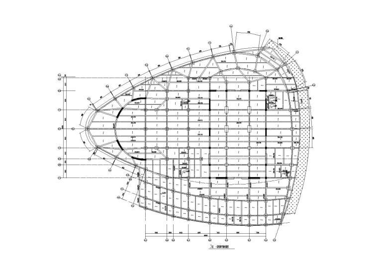 [上海]某艺术中心(剧场)建筑结施工图2017
