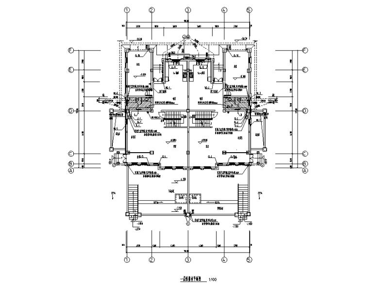 福建多层住宅楼给排水施工图