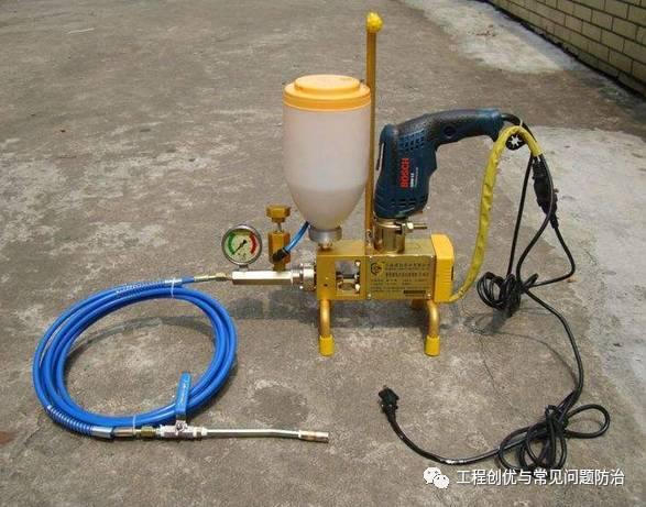 防水堵漏工程高压灌浆施工方案 !