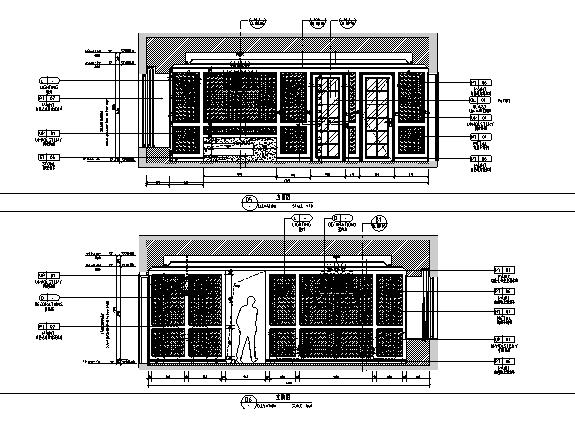 [杭州]欧式售楼处样板房住宅空间设计施工图(含效果图+实景图)_2