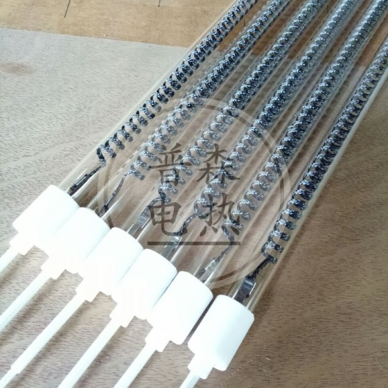 普森电热碳纤维加热管卤素加热管红外线加热管的区别