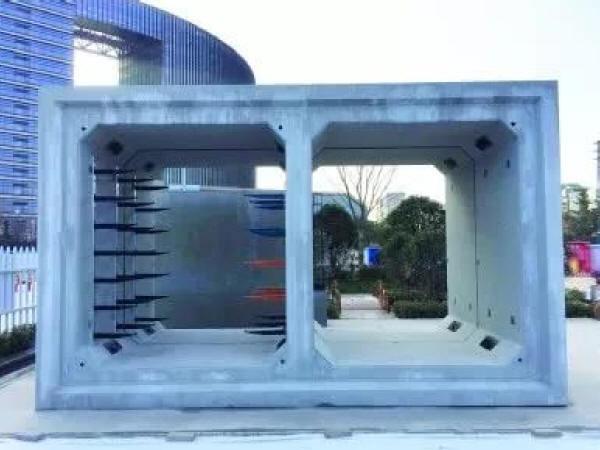 南京市南部新城因地制宜构建新型综合管廊体系