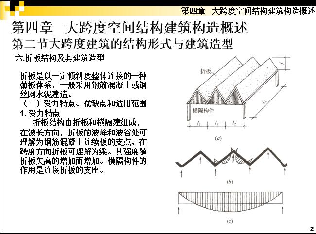 大跨度空间结构建筑构造概述