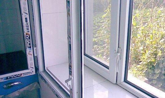 塑钢窗安装方案