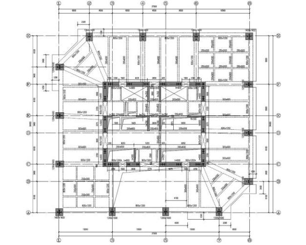 昆明金丽煕城项目商务楼A座弹塑性时程分析