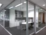 办公区玻璃隔断详图分享