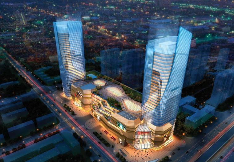 [山东]民生大街多地块商住综合区总规划设计文本