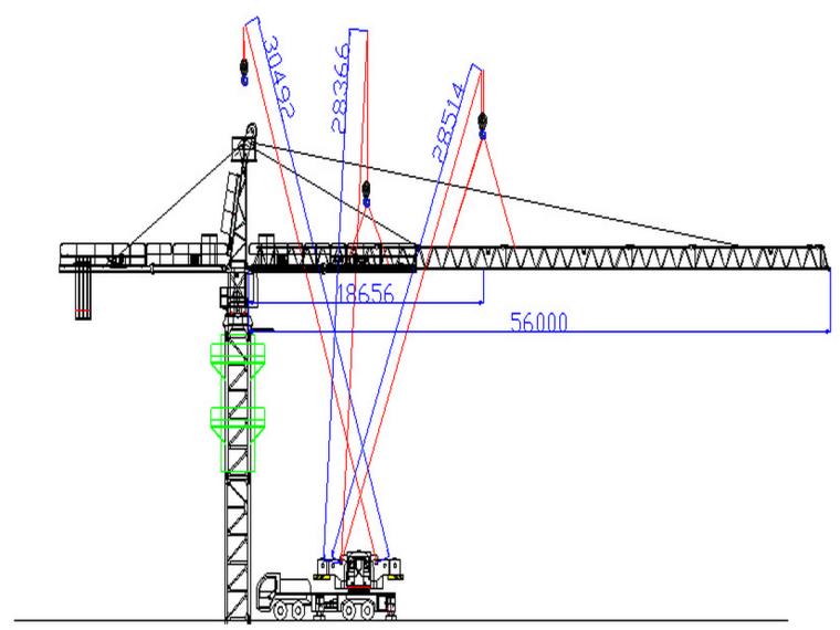 甘肃知名酒店6#楼QTZ80(TC5610-6)塔吊安拆专项方案