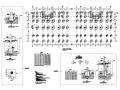 [浙江]23层框架剪力墙结构双塔办公楼结构施工图(经典转换层)