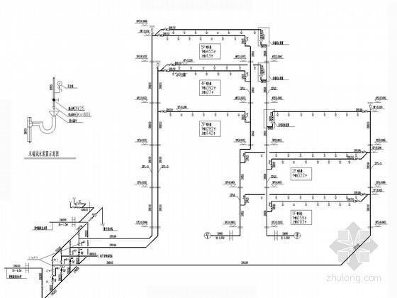 给水囹�_室内自喷给水系统图