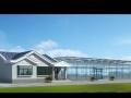 日光温室生态园大棚、展厅建筑结构全套图