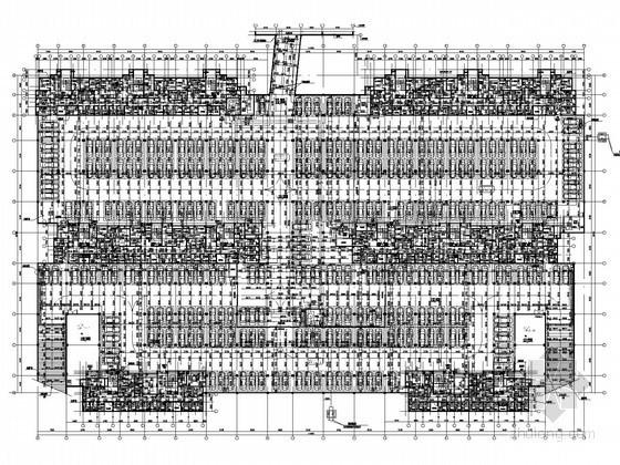 [山东]住宅建筑给排水图纸(太阳能热水 含地下室)