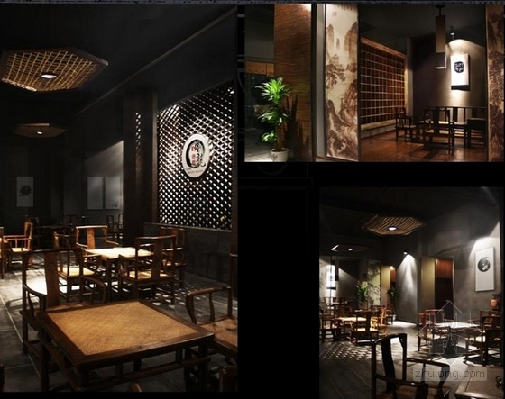 [湖南]新徽派风格度假休闲酒店室内设计改造方案