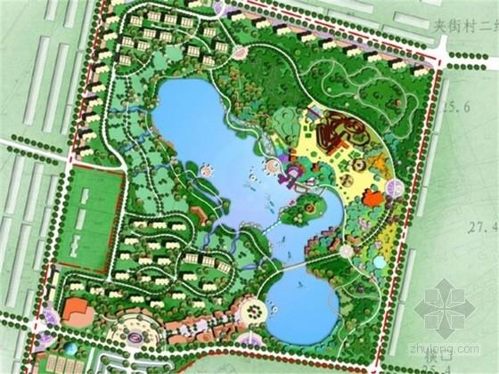 [湖北]日月潭景区及主题公园概念性景观规划设计方案
