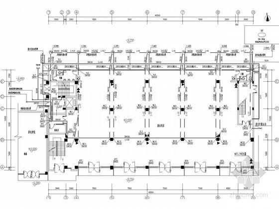 七层商场给排水施工图