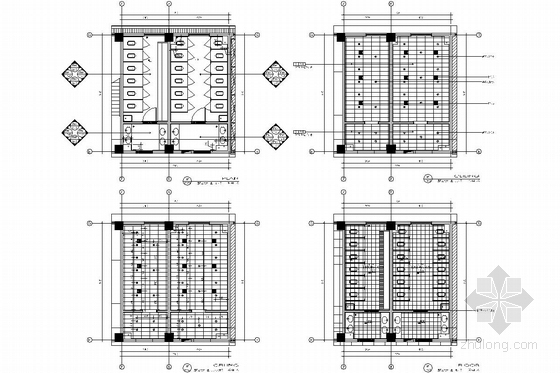 [苏州]现代教育理念实验小学装修施工图(含电气及给排水图) 立面图