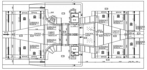 [安徽]城区水系贯通控制工程水闸施工图(升卧式钢闸门)