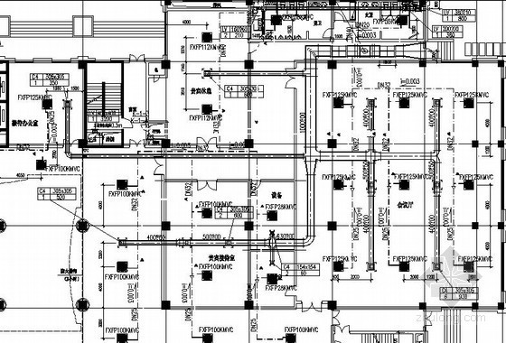 电气综合楼通风防排烟系统设计施工图