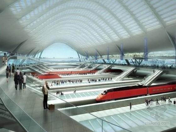 [湖北]新建铁路站房工程施工总价承包施工组织设计743页(极具参考价值)