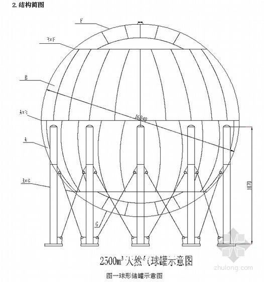 天然气球型储罐组装焊接施工方案