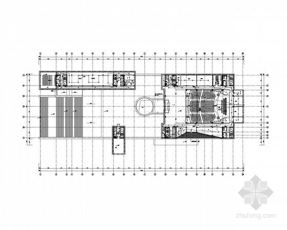 [河南]综合办公楼强弱电施工图纸(含安保、楼宇自控、停车场智能管理系统)