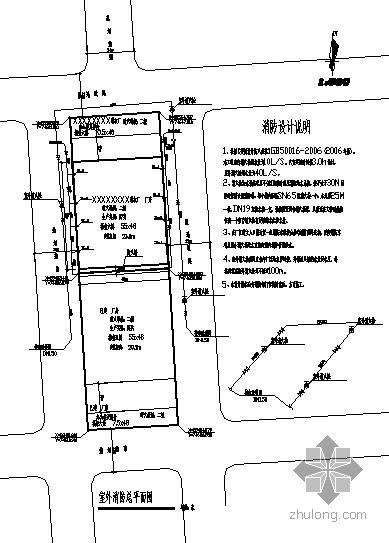 某制衣厂6层厂房消防图纸