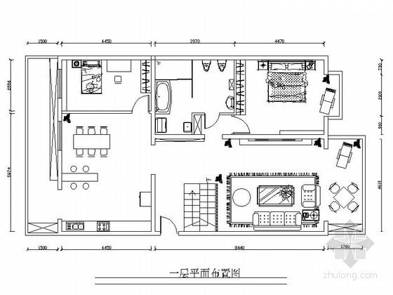 [北京]现代风格三居室复式房装修图(含实景图)