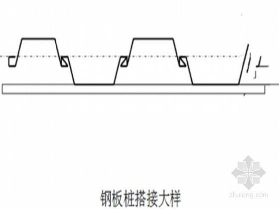 [广东]河道水环境治理工程钢板桩支护施工技术交底