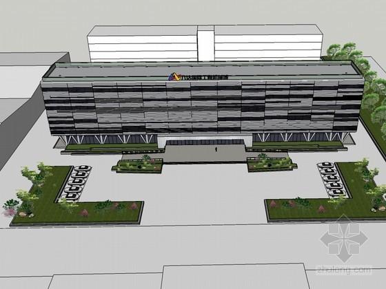 医疗建筑SketchUp模型下载-医疗建筑