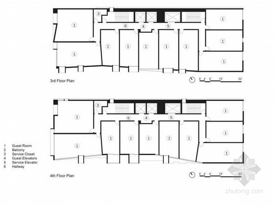 美国假日酒店室内设计图(英文版)