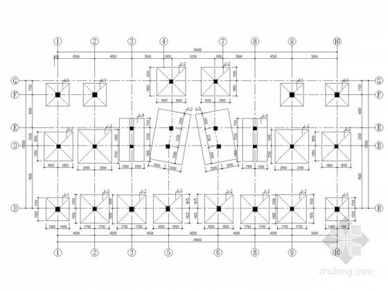 [山东]3层带地下室业务培训楼框架结构施工图