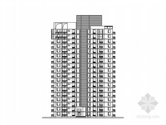 [上海]某十八层塔式住宅楼建筑方案图