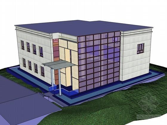 简单建筑SketchUp模型下载