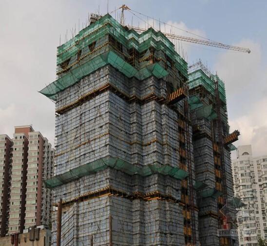 [上海]剪力墙结构高级住宅施工组织设计(技术标 图文并茂)