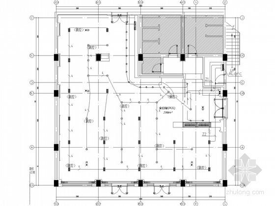 [四川]某科研院所综合楼精装修电气图纸(客房区、餐饮区)