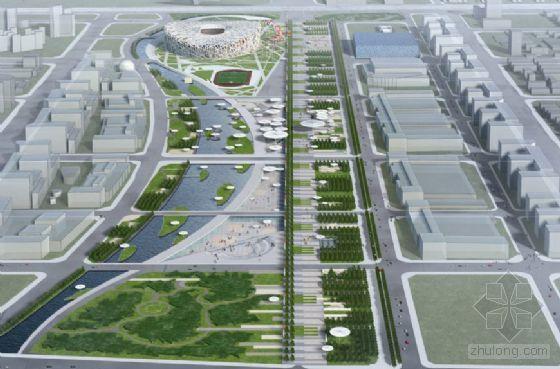 [北京]体育主题公园详细设计