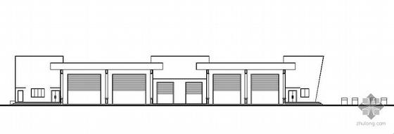 [山西]某汽车客运站建筑结构水暖电成套图纸