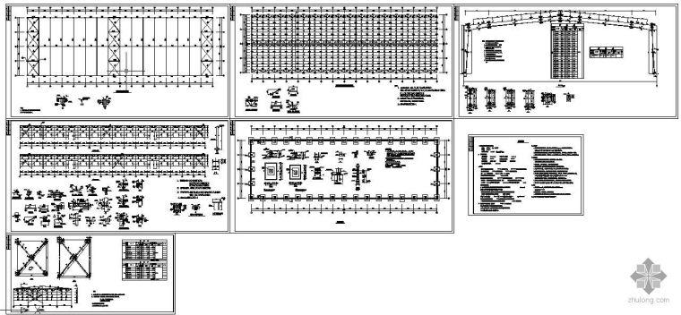 [学士]某30m跨单层轻钢结构厂房设计图