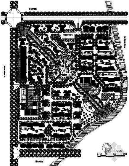 住宅小区规划设计图